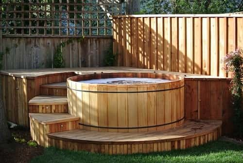 cedar hot tub kit