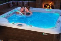 hotspring hot tub feature