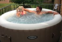 intex purespa portable hot tub feature