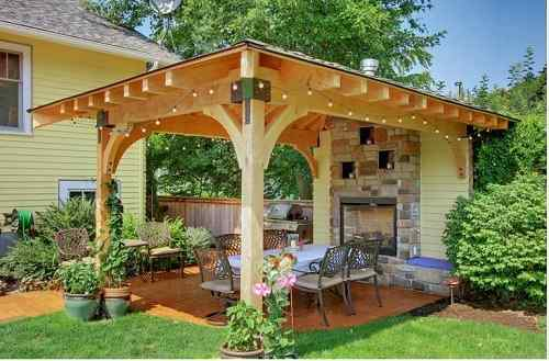 Stand Alone Patio Cover Ideas