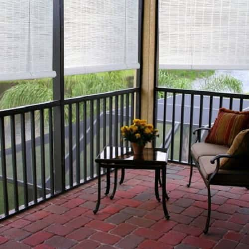 outdoor blinds for patio