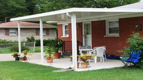Stand Alone Patio Designs : Stand alone patio cover ideas that you use in your