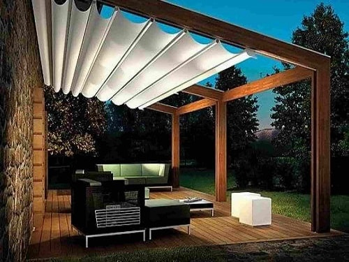 Most Attractive And Cozy Sunshades For Patio Ideas