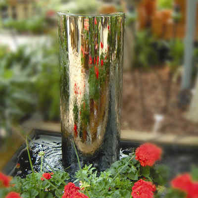 Simple Metallic Fountain
