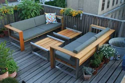 patio bench with cushions - 20 Stunning Patio Bench With Cushions That Fit For You