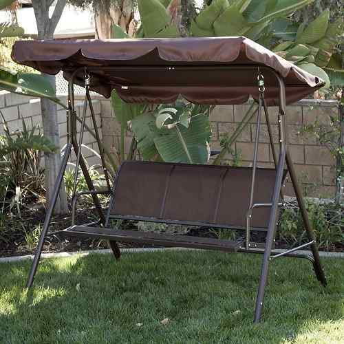 3 Person Patio Swing Canopy by Belleze