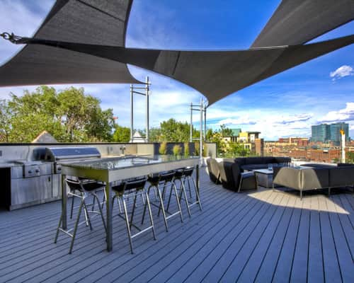 shade sails patio ideas