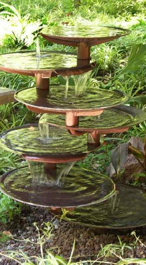 Multilevel Pond Fountain