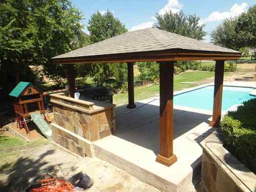 Stand Alone Designs : Stand alone patio cover ideas that you use in your