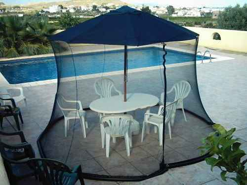 mosquito netting for patio umbrella