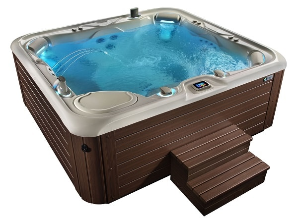 saltwater hot tub reviews hotspring spa aria from highlife. Black Bedroom Furniture Sets. Home Design Ideas