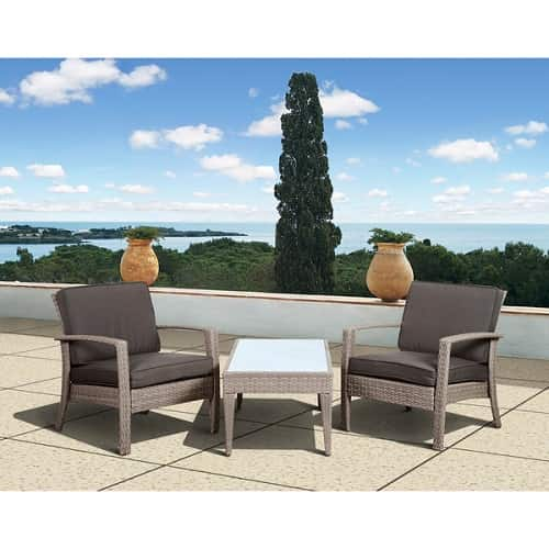 10 Most Adorable Gray Wicker Patio Furniture Set Under $500