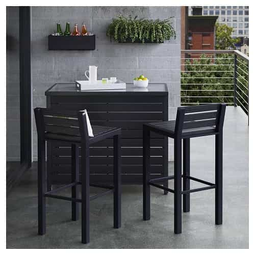 faux wood patio furniture