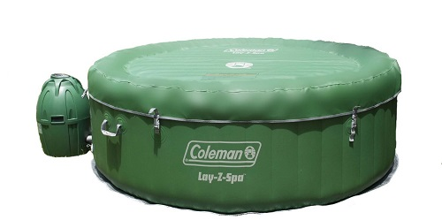 Coleman Lay Z Spa Inflatable Hot Tub review