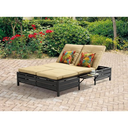 Mainstays Double Chaise Lounger