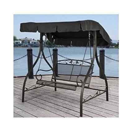 Mainstays 2 Seater Jefferson Wrought Iron Outdoor Swing