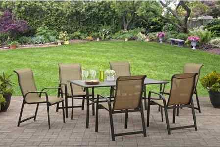 Mainstays Bristol Manor 7 Piece Dining Set