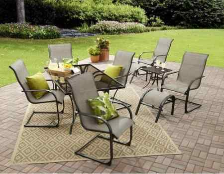 Mainstays Bristol Springs 10 Piece Dining Set