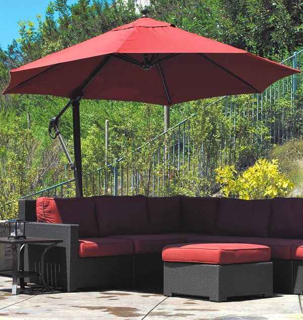 - 7 Offset Patio Umbrella Lowes To Decor Your Outdoor Space