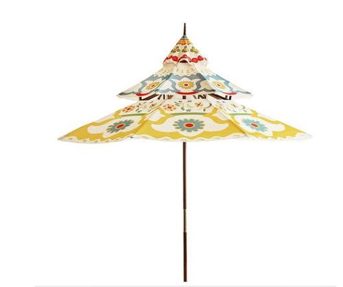 colorful patio umbrellas