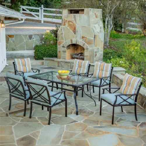Redford 7 Piece Patio Dining Set