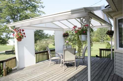 canopy awning ideas