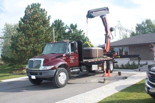 hot tub mover