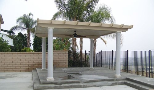 stand alone patio cover