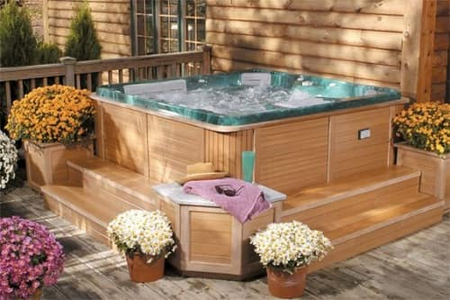 Simple and Strong Hot Tub Base Pad Ideas That is Good for Your Hot Tub