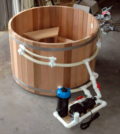 Build Your Own Hot Tub Plans
