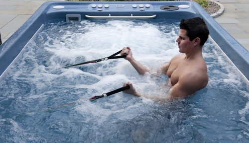 exercise hot tub
