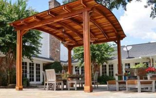 free standing patio cover kits feature