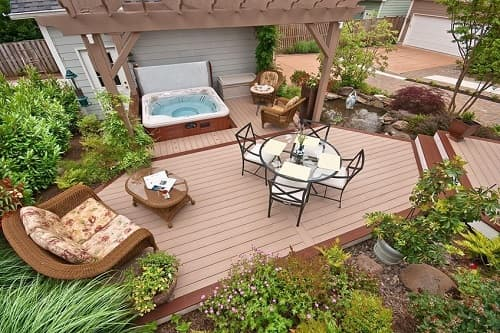 Simple And Strong Hot Tub Base Pad Ideas That Is Good For