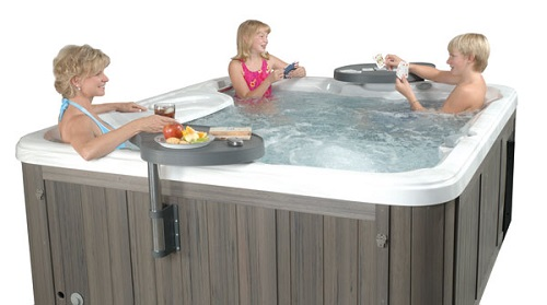Hot Tub Side Table