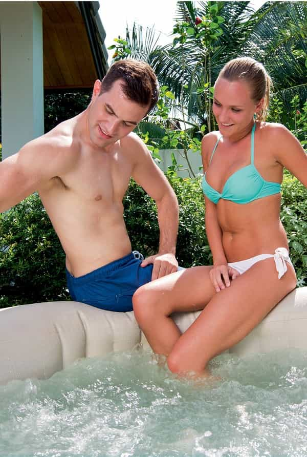 lay z spa inlfatable hot tub specs