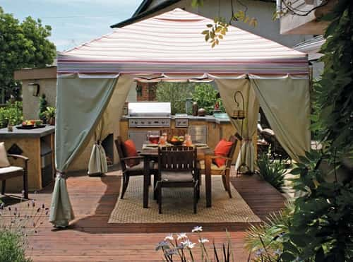 Portable Canopy for Patio 1