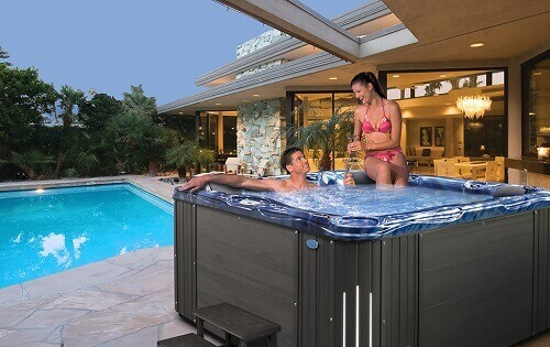high end hot tub