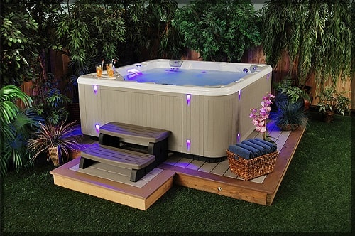 natural hot tub treatment