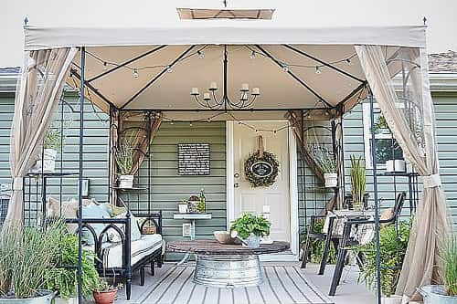 Portable Canopy for Patio