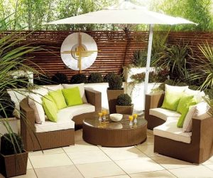 patio furniture feature