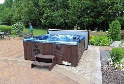 hot tub base pad