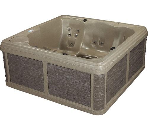 roto molded hot tub rocksport