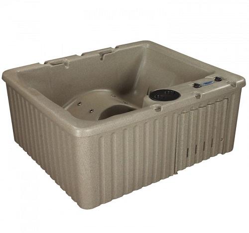 roto molded hot tub serenity