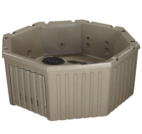 roto molded hot tub vista