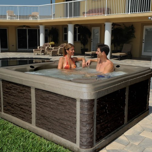 roto molded hot tub