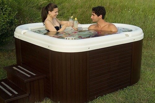 small 2 person hot tubs nordic