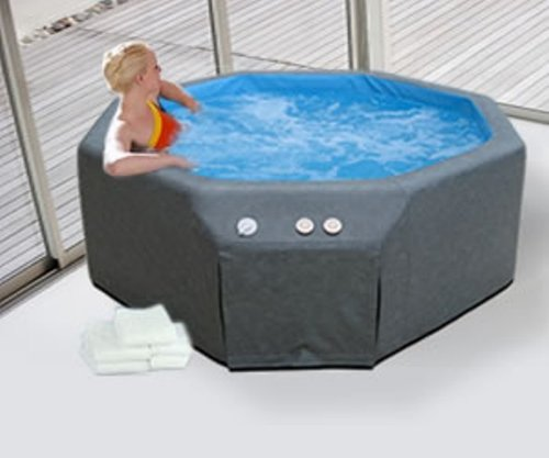 soft sided hot tub review