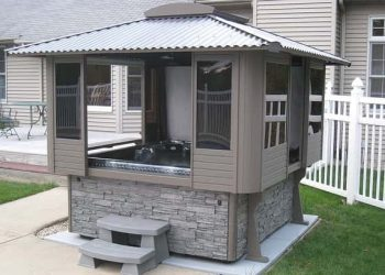 hot tub enclosure kits