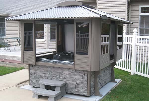 Amazing Tubtops Hot Tub Enclosure Kits To Give Enjoyable
