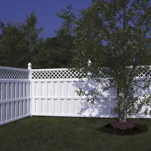 bufftech vinyl fence prices